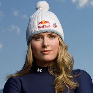 Lindsey Vonn took a thespian brief whilst competing in the Alpine Ski ...