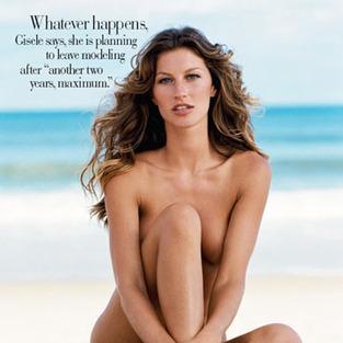 Nude Gisele Bundchen Pic. Tags: Gisele Bundchen, Tom Brady, ...