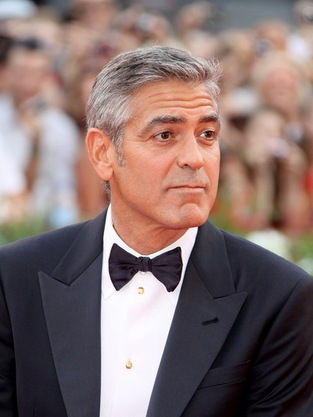 george clooney in venice Elisabetta Canalis, George Clooney's Girlfriend, Strips Nude For PETA (Video ...
