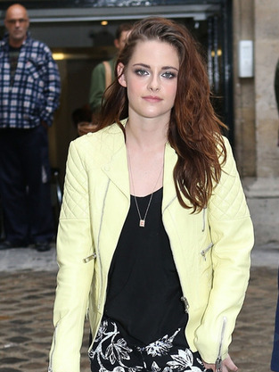 Kristen Stewart During Fashion Week