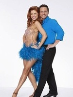Drew Lachey and Anna Trebunskaya