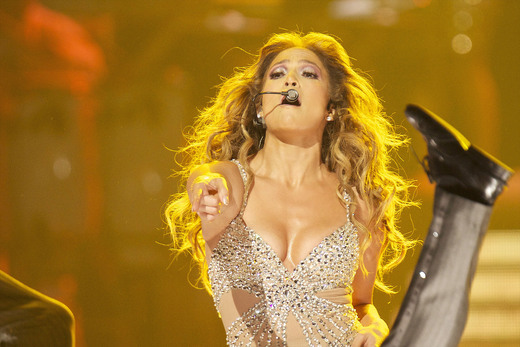 Jennifer Lopez in Spain