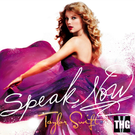 Taylor Swift Speak  Album Songs on Taylor Swift  Speak Now Cover