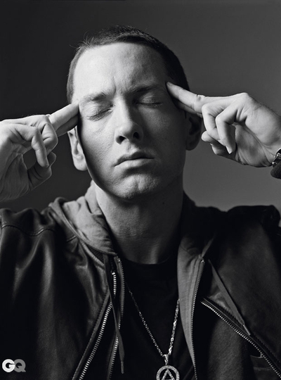 Eminem in GQ