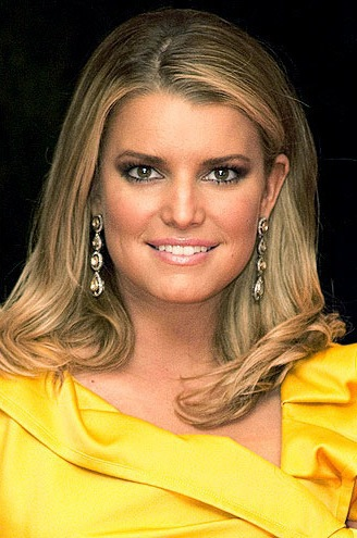 Fake-Looking Jessica. Jessica Simpson: Real or Wax?