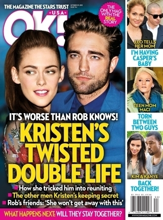 Kristen Stewart Cover on Kristen Stewart Ok  Cover