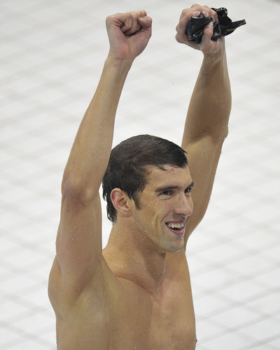 Michael Phelps in London. The incident took place in November, months after ...