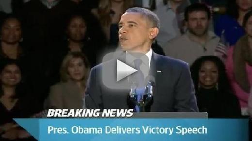 president barack obama victory speech 2012 Obama Victory Speech: President Calls For National Unity, Moving Forward