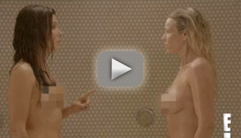 Sandra Bullock and Chelsea Handler Nude