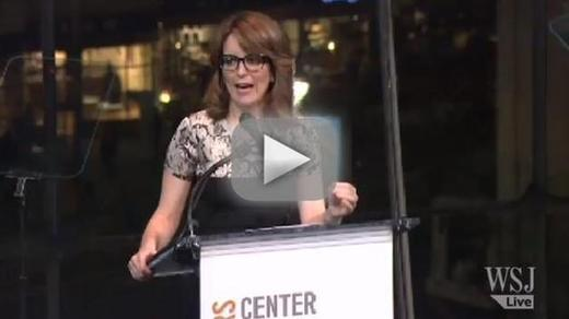 Tina Fey at Center for Reproductive Rights Gala
