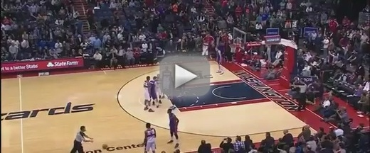 Wizards Announcer Blows Buzzer Beater